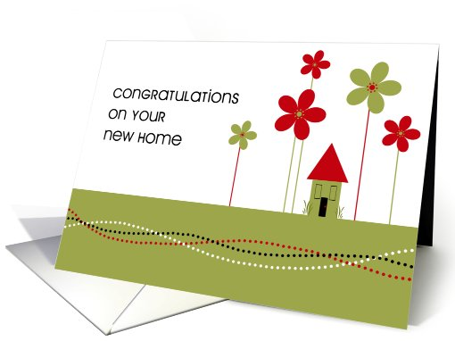 New Home Congratulations Card 136419