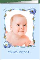 Baby Dedication Invitations From
