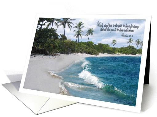 Happy Birthday Ocean Waves Card 802932