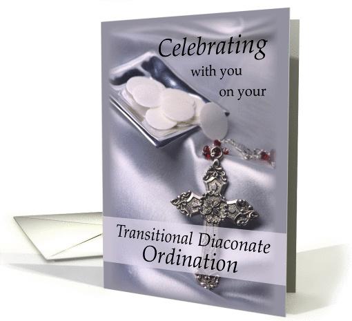 Transitional Diaconate Ordination Congratulations Deacon
