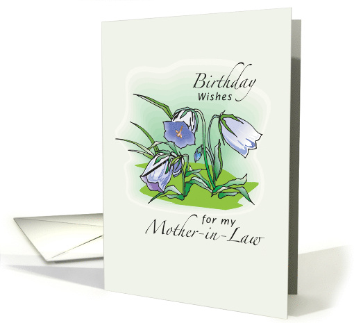 Birthday Wishes for Mother-in-Law with Floral Illustration ...