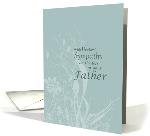 Sympathy Loss Of FATHER Card 375217