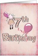 7th birthday invitations from greeting