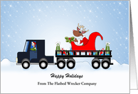 Transportation Industry Christmas Cards From Greeting Card