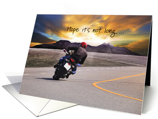 Get Well After Motorcycle Accident Card 1315756