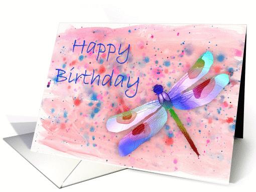 Dragonfly Birthday Card 353711