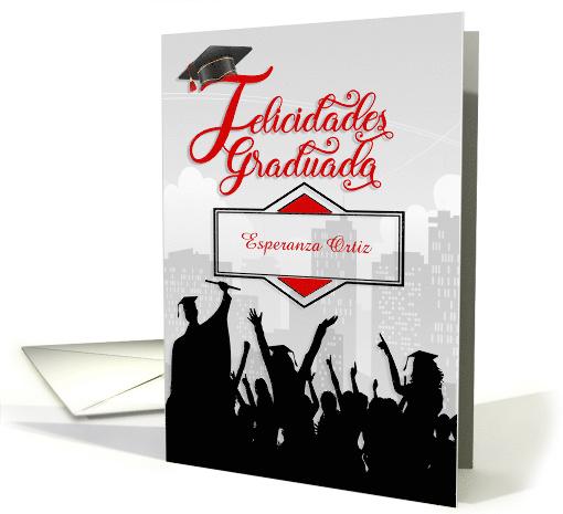 Spanish Graduation Party Invitation Graduacin Celebracin