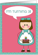 3rd birthday invitations from greeting