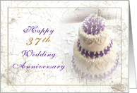 37th Wedding Anniversary Cards from Greeting Card Universe