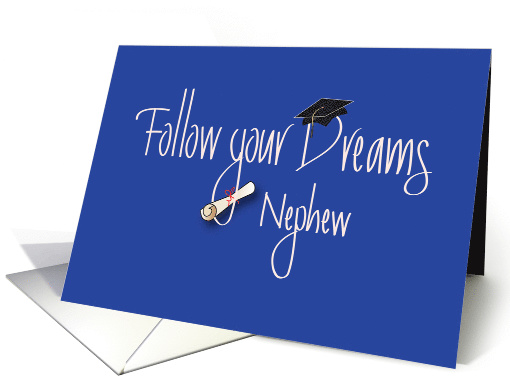 Graduation Congratulations For Nephew With Diploma Card