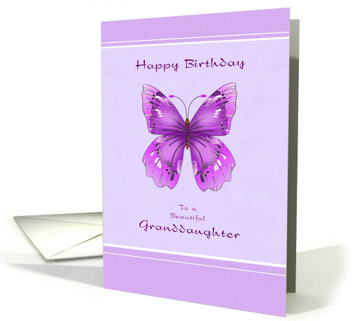 Happy Birthday Granddaughter Cards