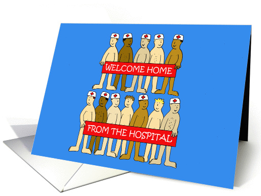 Welcome Home From The Hospital Card 1430704