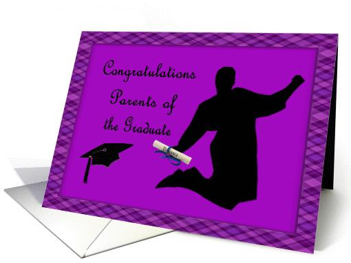 Purple Amp Plaid Congratulations Parents Of The Graduate