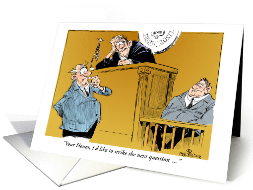 Funny Birthday Wish For A Judge Courtroom And Idiot