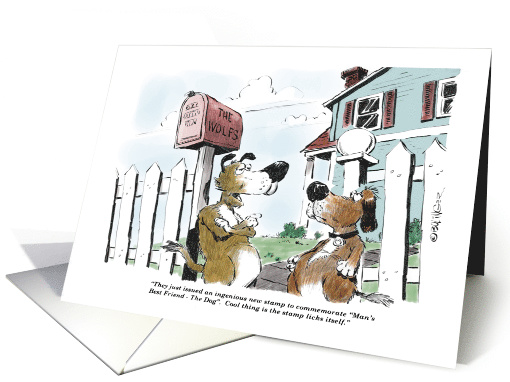 Funny Mail Carrier Thank You Holiday On Feb 4th Cartoon
