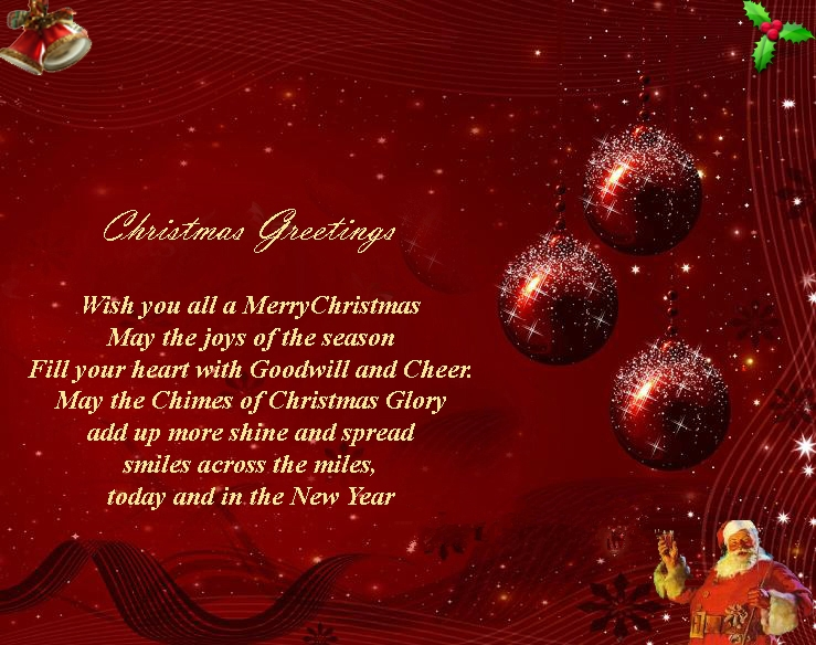 New Christmas Greetings And Wishes Collection For 2019