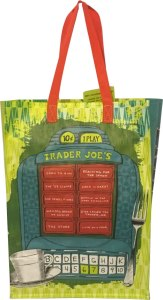 Trader Joe's Reusable Grocery Tote Bag from New Jersey