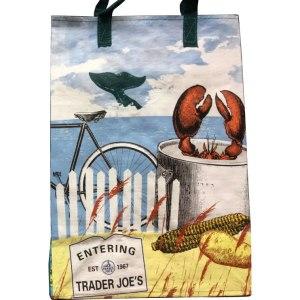 Trader Joe's Massachusetts Bag - Back