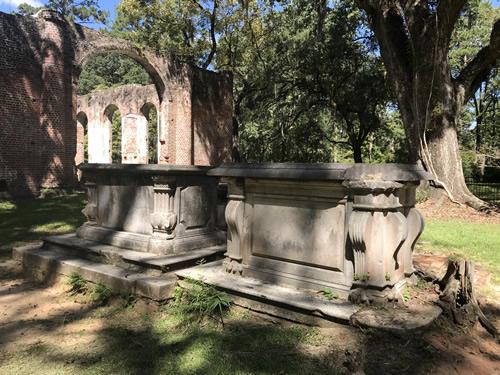 Behind Old Sheldon Church Ruins