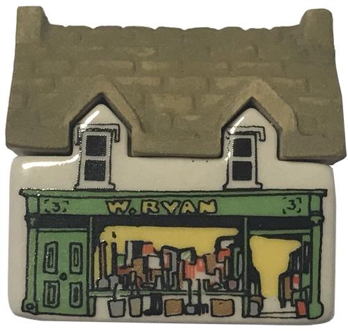 W. Ryans Hardware Store - Wade's Irish Village, Bally-Whim - Wade Whimsey Villages