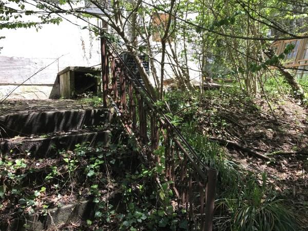 Stairs in Yard - Leslie K. Singley House, Druid Hills