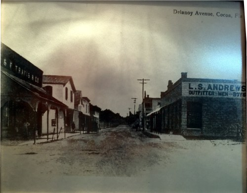 SF TRAVIS & CO on Delanoy Ave This is a picture on the wall in the store