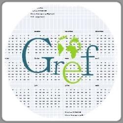 Le GREF<br>Le calendrier