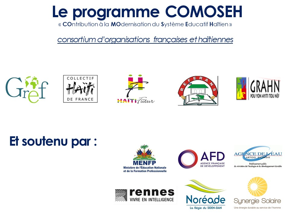 La newsletter No 1 du projet Comoseh