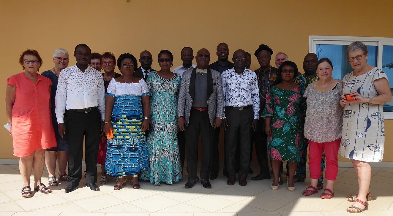 Au #Bénin : Réunion #GREF / Ministère de l'Enseignement Maternel et Primaire