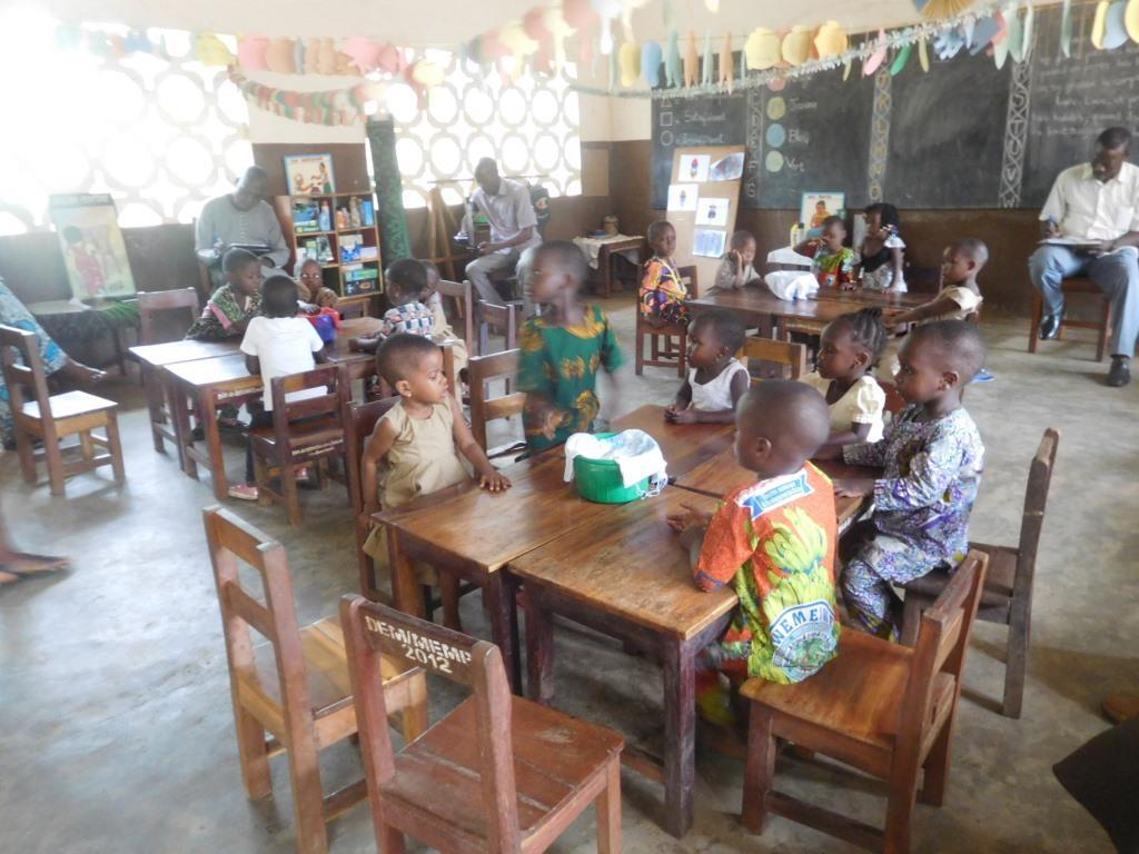 Projet préscolaire Bénin « des enseignants créatifs et des enfants actifs »