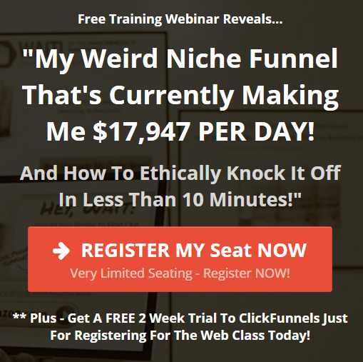 Weird Niche Funnel Making $17,947 per day!
