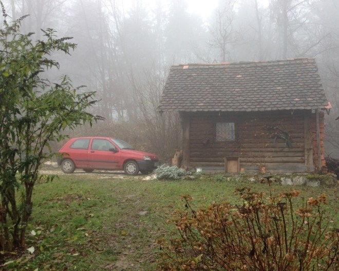 Woodland cottage outside of Ljubljana