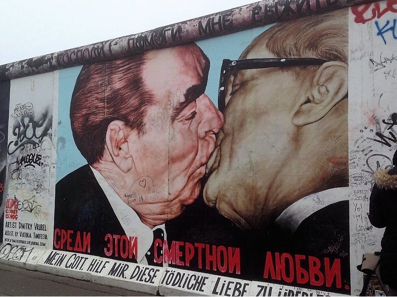 Berlin Wall street art
