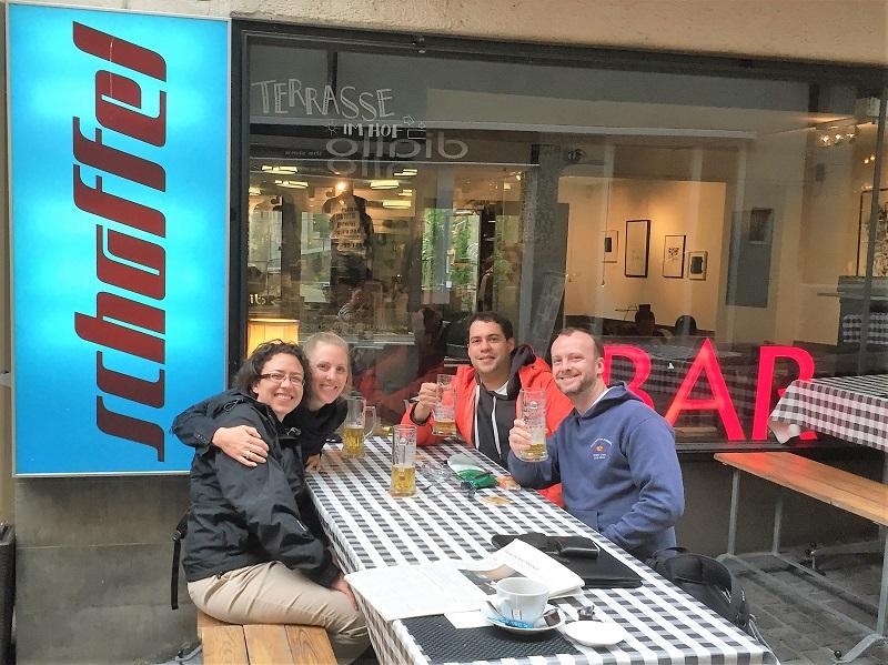 Beer at Schoffel, Zurich