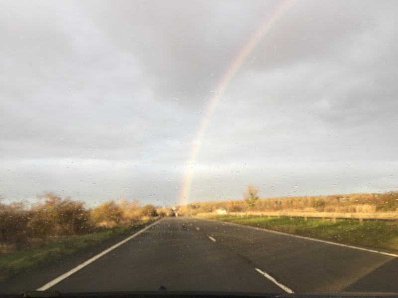 Always a rainbow after a rainy day