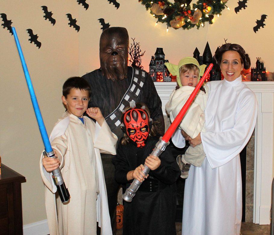 Halloween 2015 - Star Wars Family