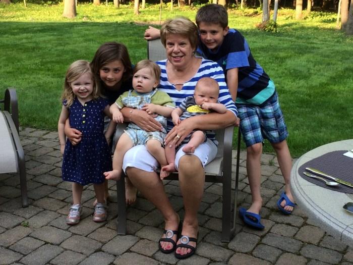 Grandma & Her Grandkids