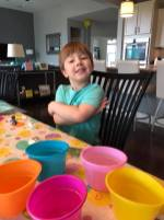 Coloring Easter Eggs (1)