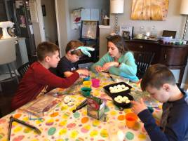 Coloring Easter Eggs (4)