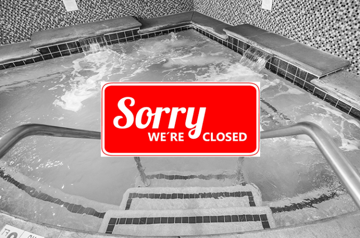 Closed Hot Tub