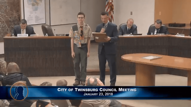 City of Twinsburg Council Meeting - January 23, 2018