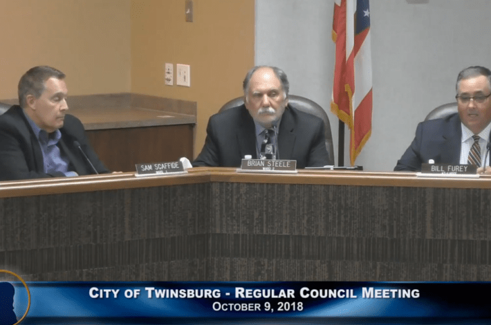 City of Twinsburg Council Meeting - October 9, 2018