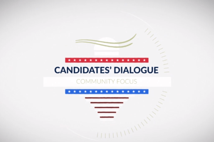 Candidates Dialogue Community Focus