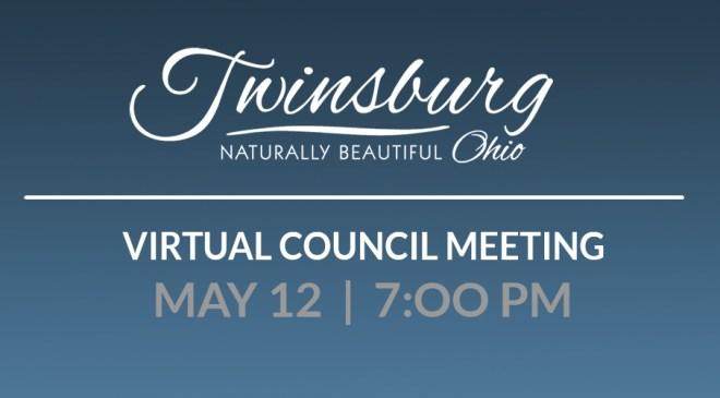 Virtual Council Meeting May 12th