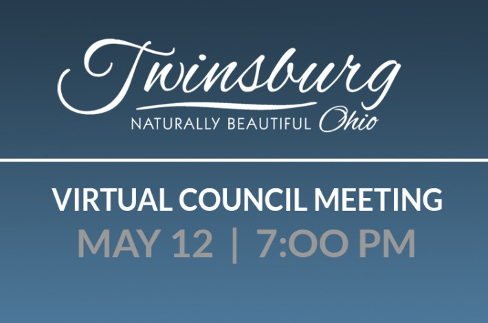 Virtual Council Meeting May 12th