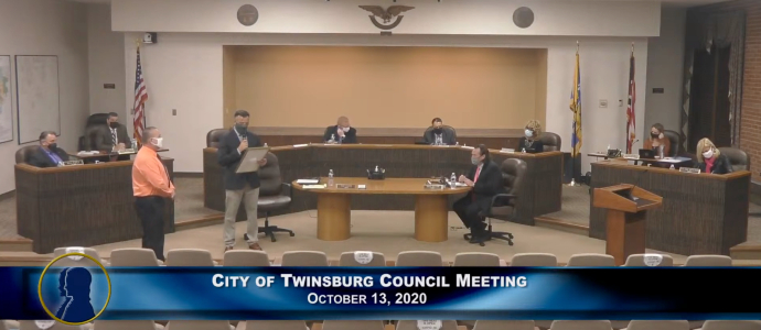 City Council Meeting - October 13, 2020 690x300