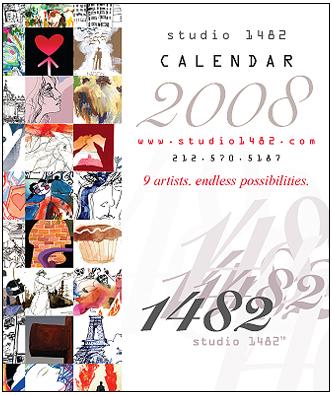 Studio 1482 Calendar