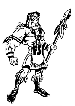 Illustration Fsu Seminole Inked By Greg Dampier