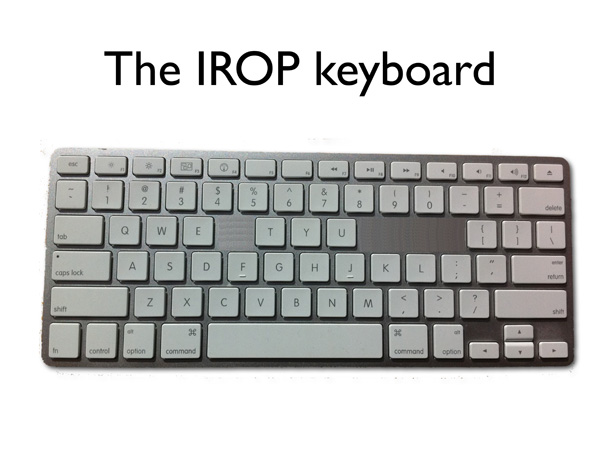 Eclipse Programmers Should Avoid the IROP Keys