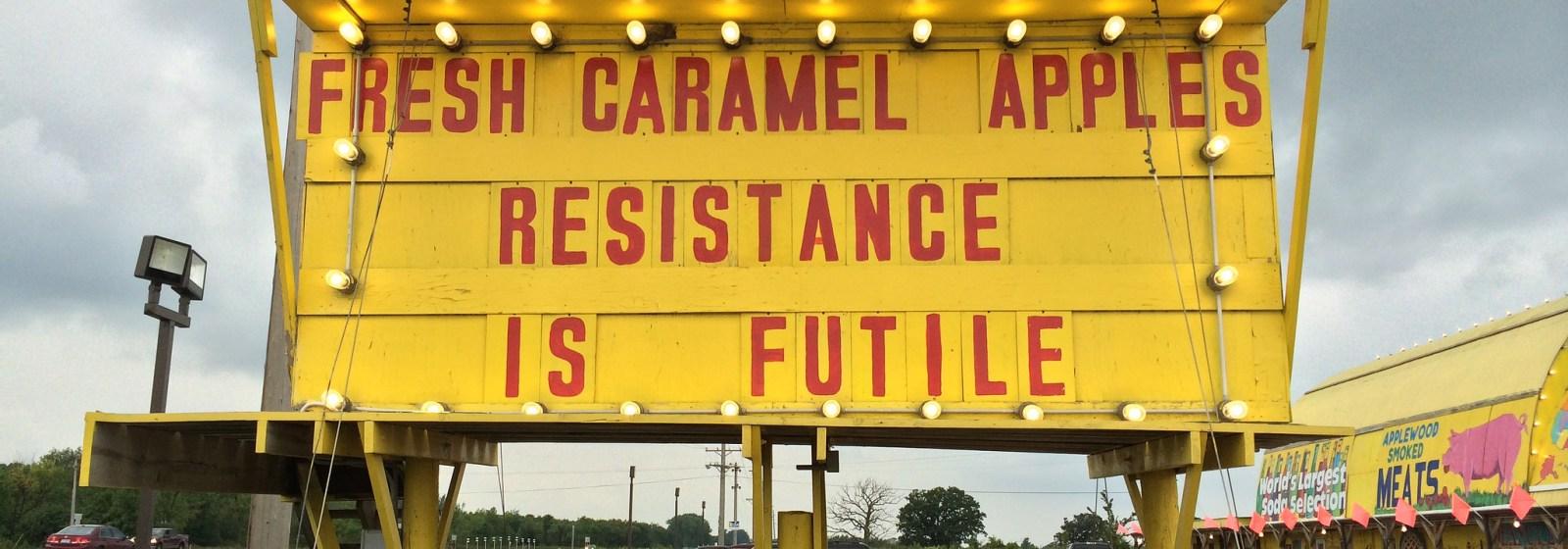Innovation – Resistance is Futile